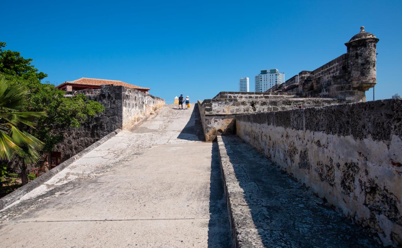 Baluartes, Cartagena de Indias