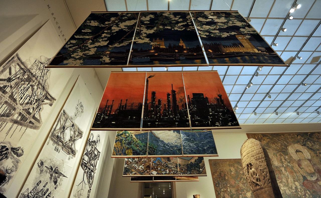 Museo Metropolitano de Nueva York, MET. Imagen para ilustrar nota de visitas virtuales a museos del mundo. AFP PHOTO/Stan HONDA.