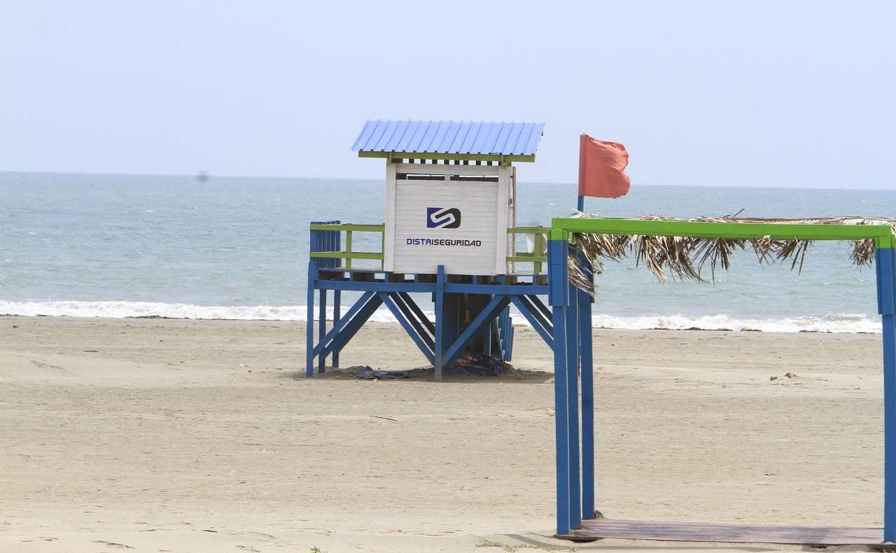 Playa de La Boquilla, imagen para ilustrar nota de reapertura de playas en Cartagena.jpg
