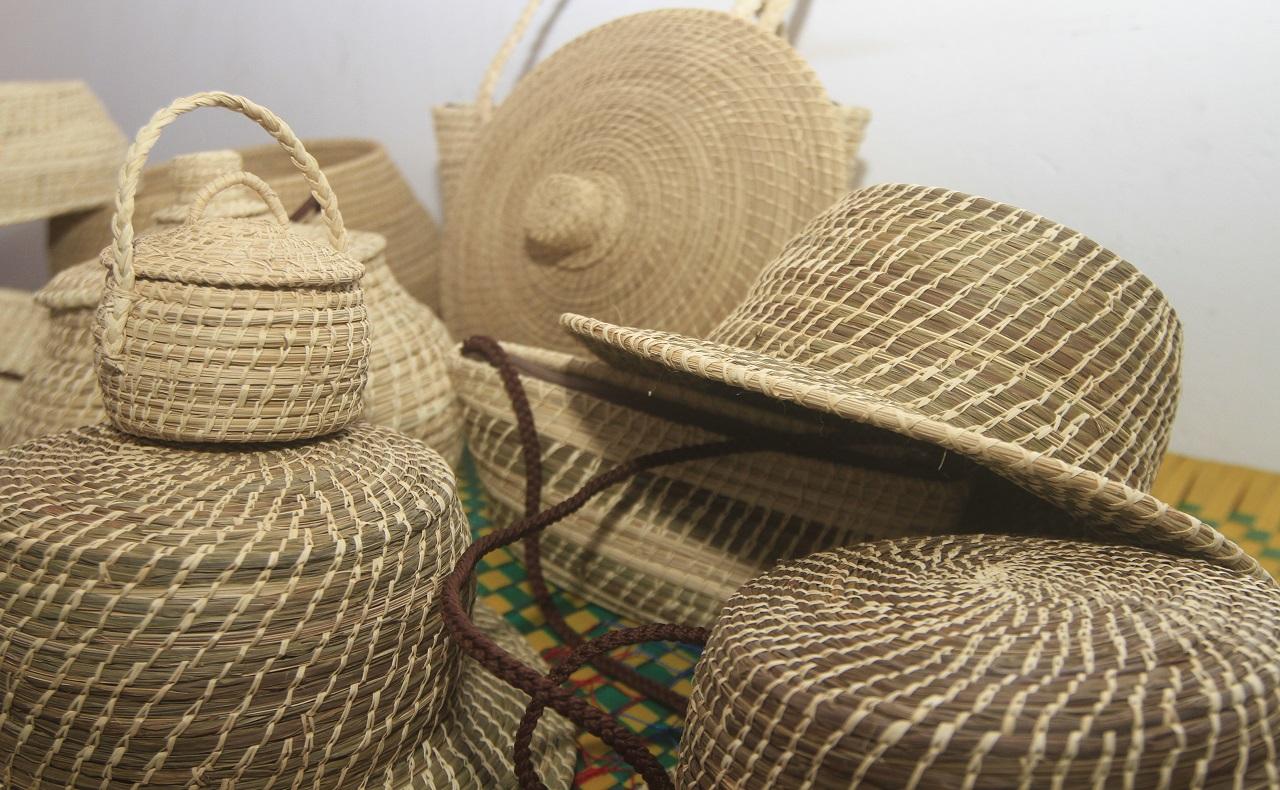 Sombreros tejidos en Simití, Bolívar, imagen para ilustrar nota de artesanías en Cartagena.jpg