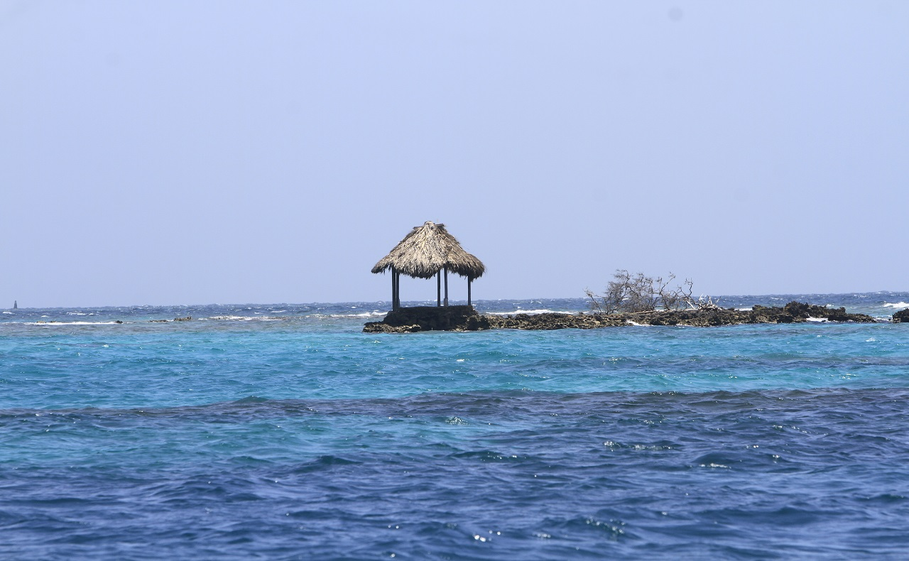 Imagen de las Islas del Rosario en Cartagena