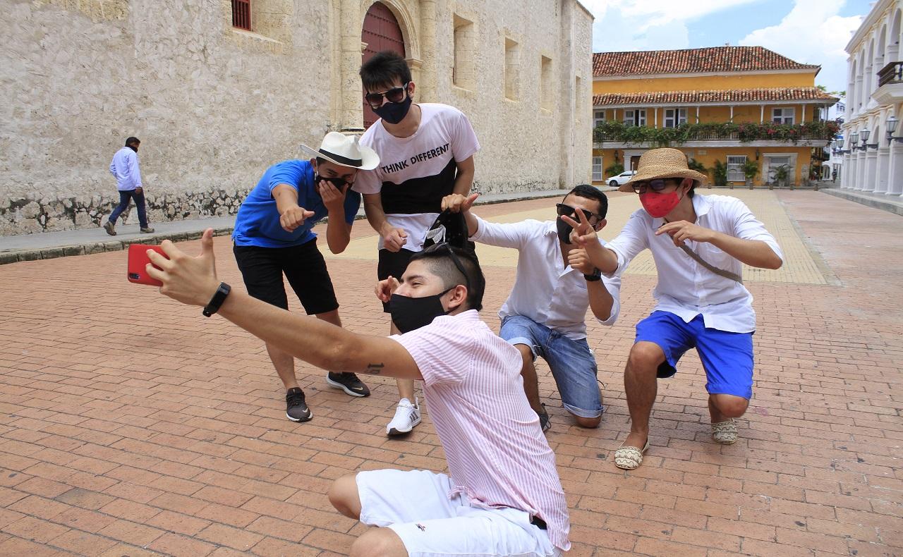 Turismo en Cartagena con protocolos de bioseguridad