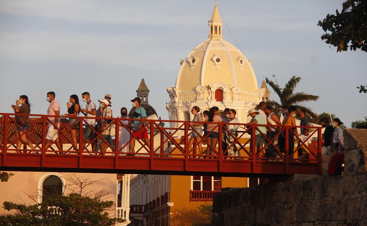 Reactivación del turismo en Cartagena de Indias