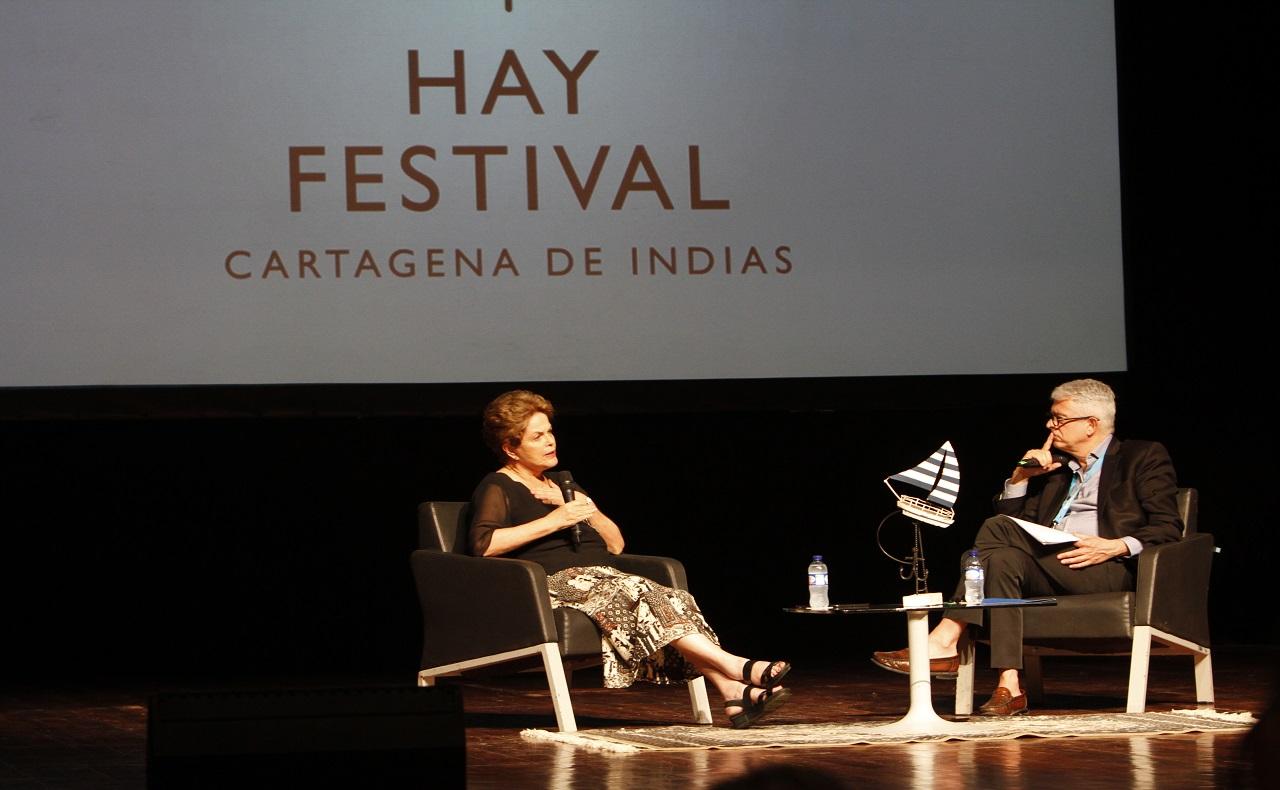 charla del Hay Festival Cartagena 2020