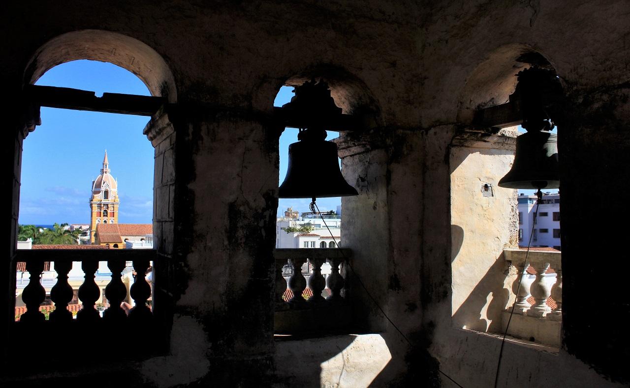 Campanario del claustro de San Pedro Claver, 5 claves para reactivar el turismo en Cartagena